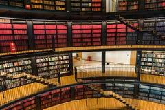 Biblioteca pública imagem de stock