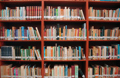 Biblioteca pública fotografia de stock royalty free