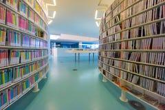 Biblioteca pública de Amsterdão Imagens de Stock Royalty Free