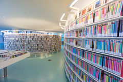 Biblioteca pública de Amsterdão Fotografia de Stock Royalty Free