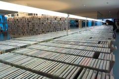 Biblioteca pública de Amsterdam Imagen de archivo libre de regalías