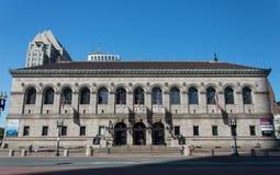 Biblioteca pública de Boston imágenes de archivo libres de regalías