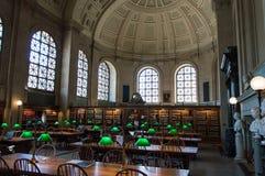 Biblioteca pública de Boston fotografía de archivo