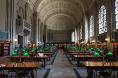 Biblioteca pública de Boston foto de stock