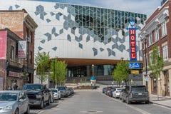 Biblioteca pública de Calgary imagenes de archivo