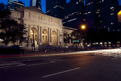 Biblioteca pública de New York Fotos de Stock