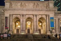 Biblioteca pública de Nueva York Fotos de archivo libres de regalías