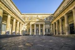 Biblioteca pública en Lecce, Puglia, Italia Fotos de archivo libres de regalías