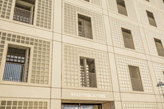 Biblioteca pública municipal (Stadtbibliothek) de Estugarda Imagem de Stock Royalty Free
