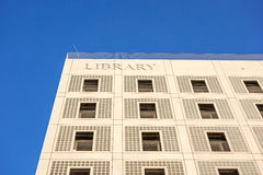 Biblioteca pública municipal (Stadtbibliothek) de Estugarda Fotografia de Stock Royalty Free