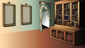 Biblioteca pequena Imagem de Stock