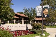Biblioteca presidencial de Ronald Reagan Imagens de Stock