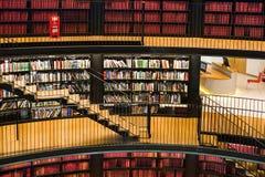 Biblioteca pubblica Fotografie Stock Libere da Diritti