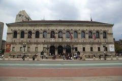 Biblioteca pubblica a Boston Fotografia Stock