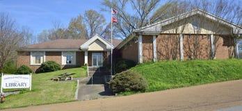Biblioteca pubblica della contea di Fayette, Somerville, TN immagini stock