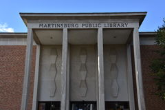 Biblioteca pubblica di Martinsburg in Virginia Occidentale Immagine Stock