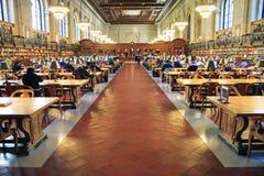 Biblioteca pubblica di New York Immagine Stock