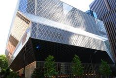 Biblioteca pubblica di Seattle Fotografie Stock Libere da Diritti