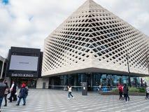 Biblioteca real, aprendizagem e centro cultural em Ringwood nos subúrbios orientais de Melbourne imagem de stock