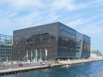 Biblioteca real de Copenhague Fotografía de archivo