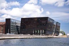 Biblioteca reale Copenhaghen Fotografia Stock