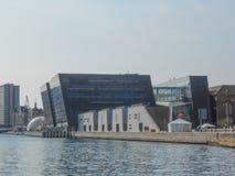 Biblioteca reale di Copenhaghen Fotografia Stock Libera da Diritti