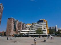Biblioteca Rotterdam Fotografía de archivo