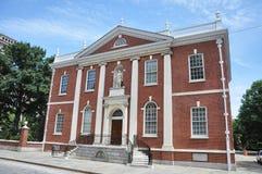 Biblioteca Salão em Philadelphfia Imagem de Stock