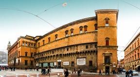 Biblioteca Salaborsa im Bologna, Italien Stockbilder