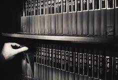 Biblioteca serba della letteratura Fotografia Stock