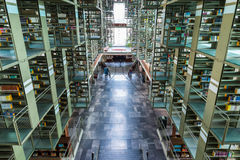 Biblioteca Vasconcelos Royalty Free Stock Photo