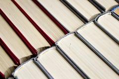 Biblioteca vermelha e cinzenta Imagem de Stock