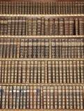 Biblioteca vieja Foto de archivo