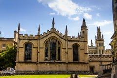 Bibliotecas de Bodleian oxford foto de archivo libre de regalías