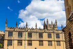 Bibliotecas de Bodleian oxford fotos de archivo