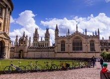 Bibliotecas de Bodleian oxford foto de archivo