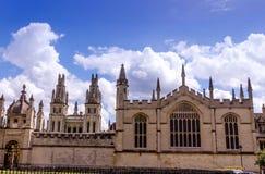 Bibliotecas de Bodleian oxford imagen de archivo libre de regalías