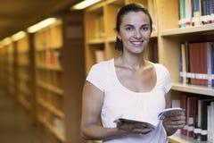 biblioteczna kobieta Obraz Royalty Free