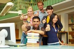biblioteczne aprobaty Fotografia Stock