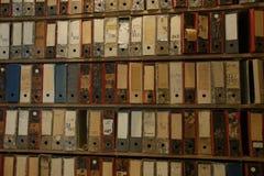 Biblioteczni archiwa fotografia royalty free