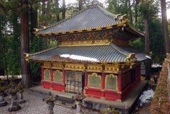biblioteczny Japan święty sutra Nikko Zdjęcia Royalty Free