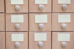 Biblioteczny katalog Obraz Stock