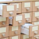 Biblioteczny katalog Zdjęcia Stock