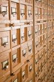 Biblioteczny katalog Zdjęcia Royalty Free