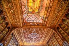 Biblioteczny Lello sufit obrazy royalty free