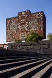 biblioteczny Mexico obywatela uniwersytet zdjęcia stock