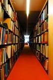Bibliotek Arkivbild