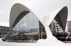 Bibliotek, Library at Tromso, Norway Stock Image
