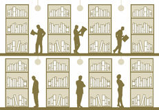 biblioteka royalty ilustracja