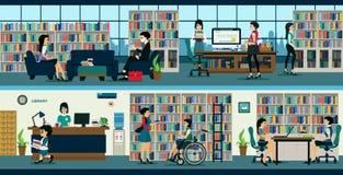 biblioteka ilustracji